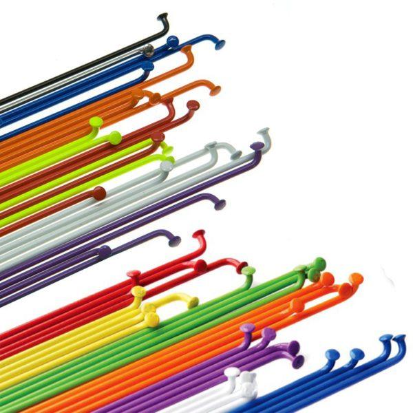 BLB - Rostfreie Stahlspeichen farbig - 2,0 mm