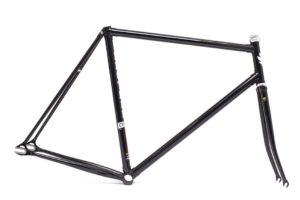 Brother cycles Rahmenset R725 black sparkle schwarz seitenansicht