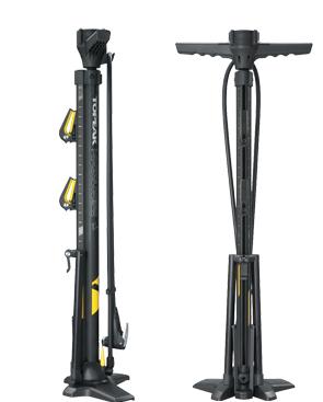 Faltbare-Fahrradständer-Standpumpen- Kombination
