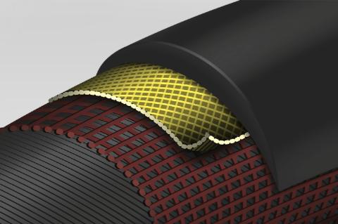 Continental-GatorSkin-Kevlar-PolyX Breaker -Drahtreifen-profil-aufbau
