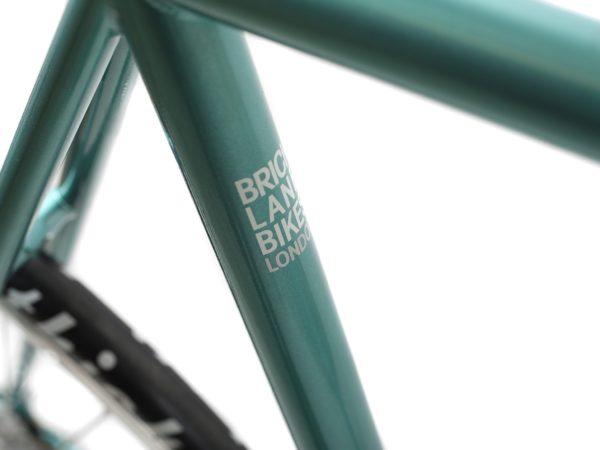 blb city classic fixie single speed bike derby green