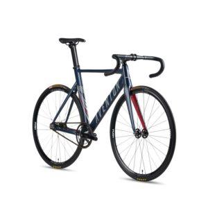 aventon mataro fixie single speed bike Blue