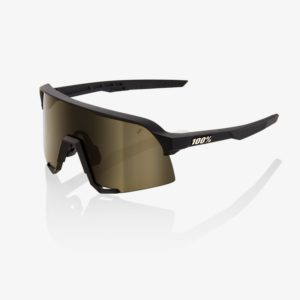 S3-bike-glasses-Soft Tact Black Soft Gold Lens