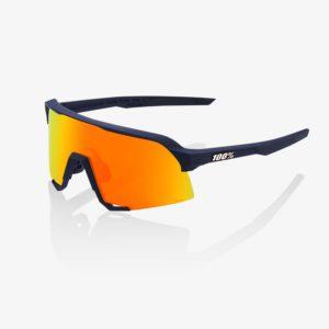 S3-bike-glasses-Soft Tact Flume HiPER Red Multilayer Mirror Lens