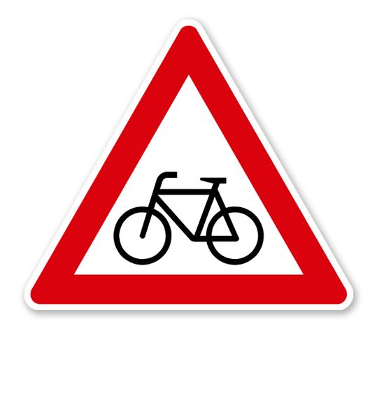 Radfahrer-kreuzen-rechts