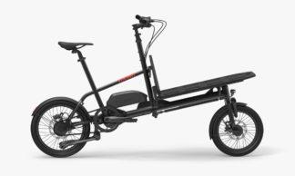 e.YOONIT mini cargo bike job Black